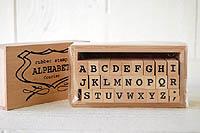 アルファベット スタンプセット Sサイズ