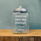 GLASS JAR MILK CHOCOLATE
