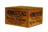 Homestead ベーキングパウダー ボックス